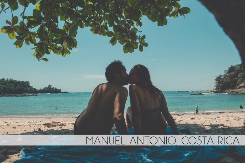 Diana Southern and Ian Norman in Manuel Antonio, Costa Rica
