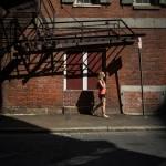 summer streets in Boston