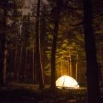 camping at Acadia National Park