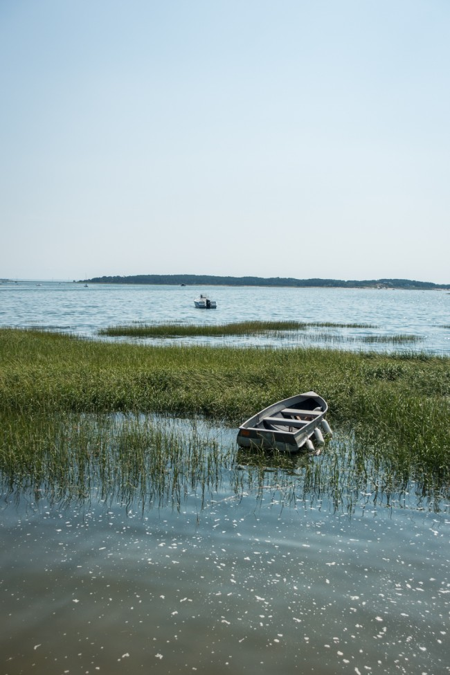wooden boat in Cape Cod