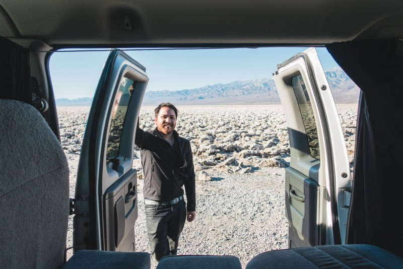 Escape Campervans Review and Our Trip to Death Valley