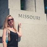 North to South U.S. road trip recap week eighteen   Missouri monument at Washington Monument, D.C.