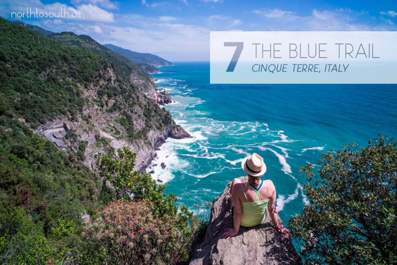 Taking the Stairs: 10 Breathtaking Viewpoints to Hike to in Europe: The Blue Trail (Cinque Terre, Italy)