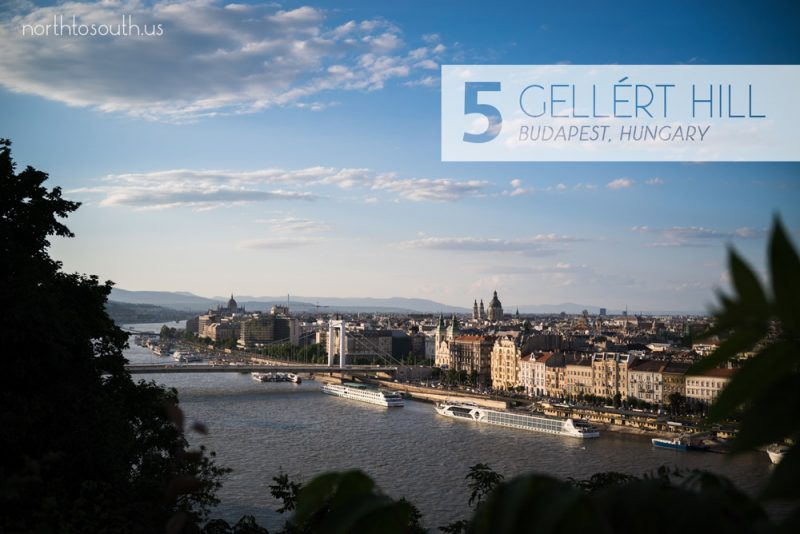 Taking the Stairs: 10 Breathtaking Viewpoints to Hike to in Europe: Citadel on Gellért Hill (Budapest, Hungary)