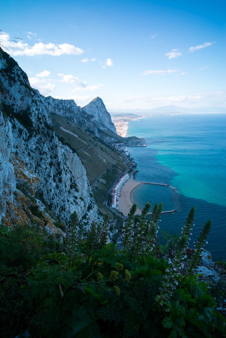 Hiking to the Top of the Rock of Gibraltar | East side of the Rock