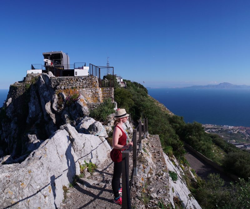 Hiking to the Top of the Rock of Gibraltar