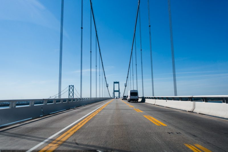 U.S. Road Trip: Crossing the Chesapeake Bay Bridge in Maryland
