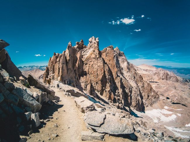 Trail Crest View - Hiking Mt Whitney - northtosouth.us